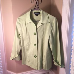 Requirements Cute Green Jacket